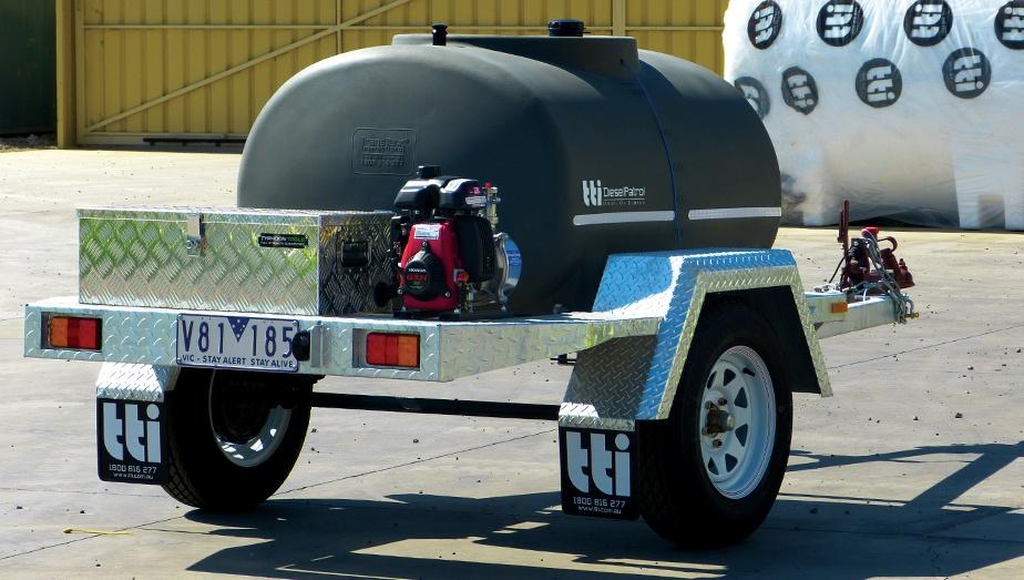 Advantages of a Poly Diesel Tank - Diesel Patrol by TTi