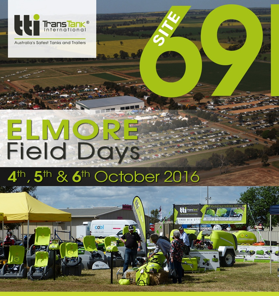 TTi Joins Elmore Field Days 2016 - Site 69