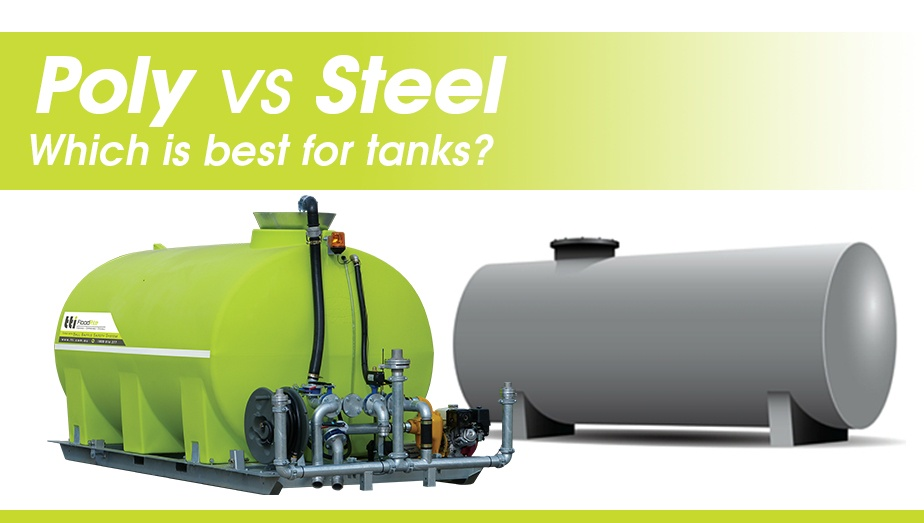 poly vs steel - which is the best for chemical or water cartage tanks