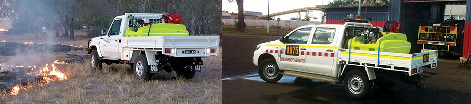 fire fighting units and fire equipments made in Australia by TTi