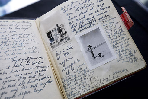 Anne Frank Original Diaries to be Exhibited