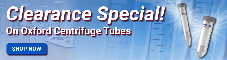 Oxford Centrifuge Tube Deals!