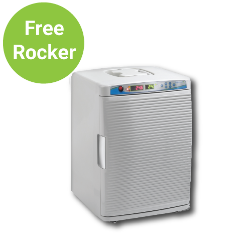 Free Rocker with Purchase of Benchmark MyTemp Mini CO2 Digital Incubator