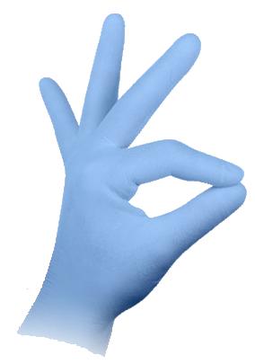 Aurelia Protege Light Blue Nitrile Gloves on Sale at Pipette.com