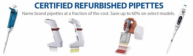 Certified Refubished Pipette Sale