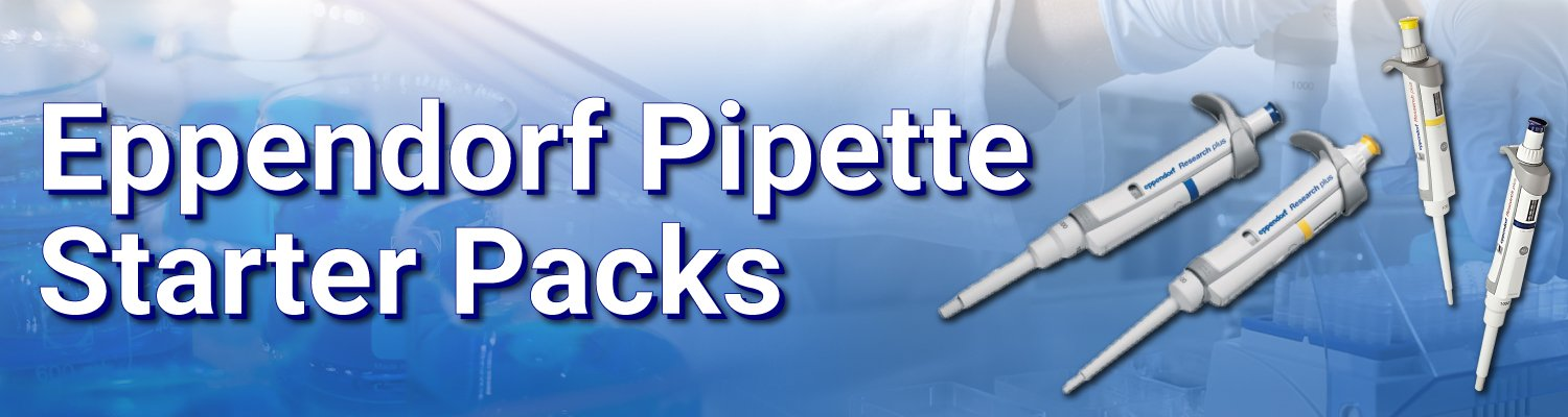 Eppendorf Research Plus Pipette Packs