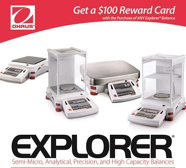 OHAUS Explorer Semi-Micro Balances
