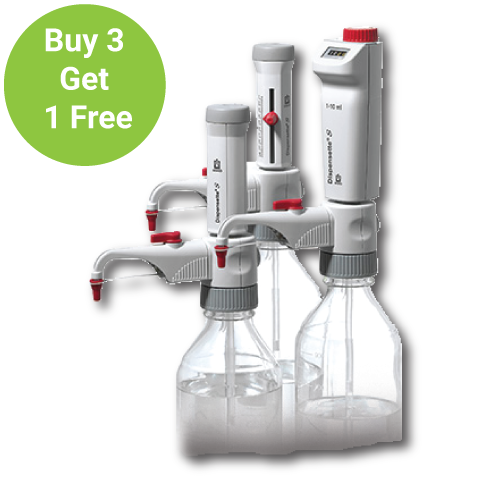 Bottletop Dispensers are Buy 3 get 1 FREE