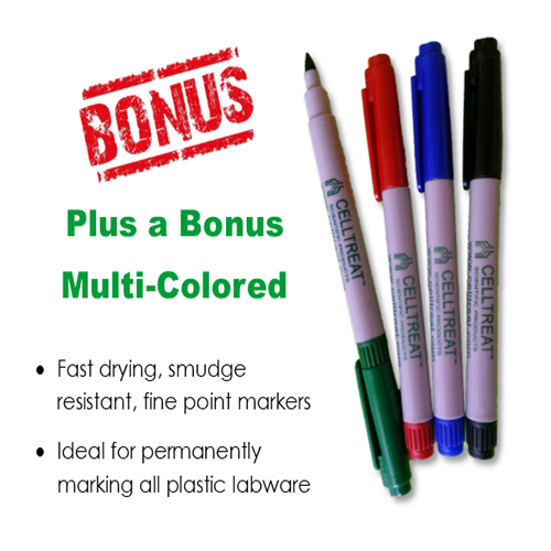 Free Marker Set with CELLTREAT Products