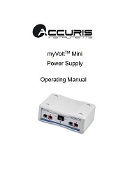 E2100 MyVolt Mini User Manual