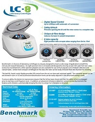 Benchmark LC-8 Centrifuge Series Brochure