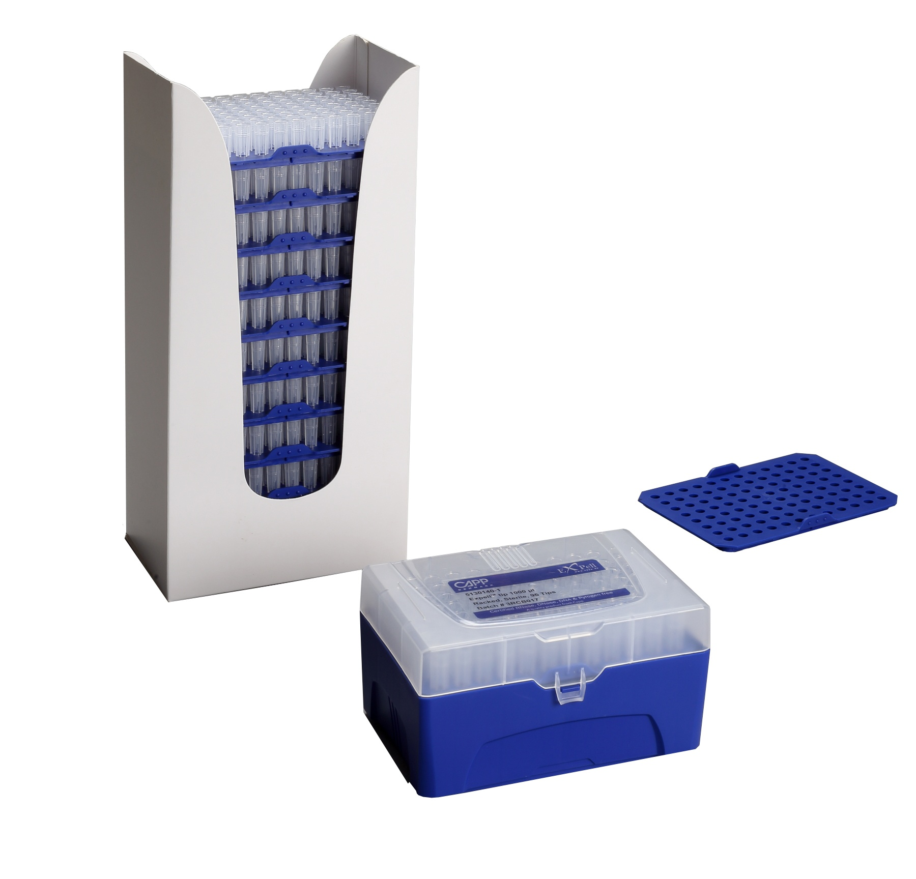 Racked and Reload Pipette Tips from CAPP