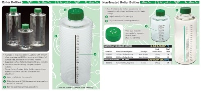 CELLTREAT Roller Bottle Features