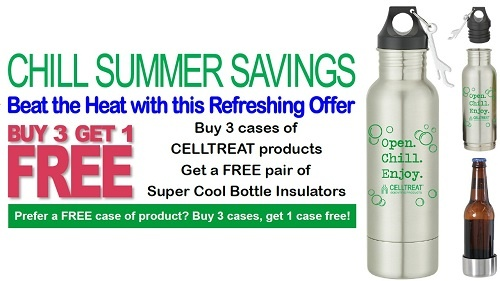 CELLTREAT Summer 2018 Promotion at Pipette.com