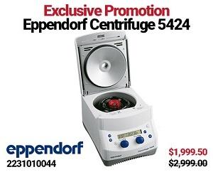 5424 Eppendorf Centrifuge Exclusive Promotion