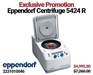 Eppendorf 5424R Centrifuge Exlusive Promotion
