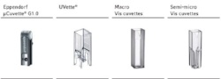 Cuvette Technical Data