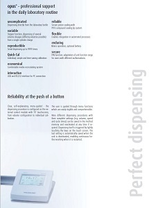 Opus Electronic Dispenser Brochure