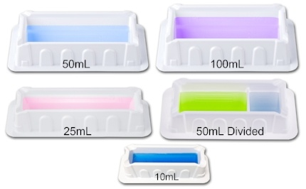 MTC Bio Reagent Reservoir Sizes