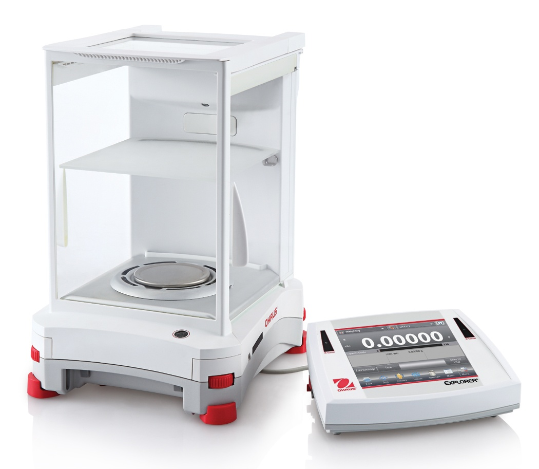 OHAUS Explorer Semi-Micro Balances - Analytical Scales Modular Image - Pipette_Com