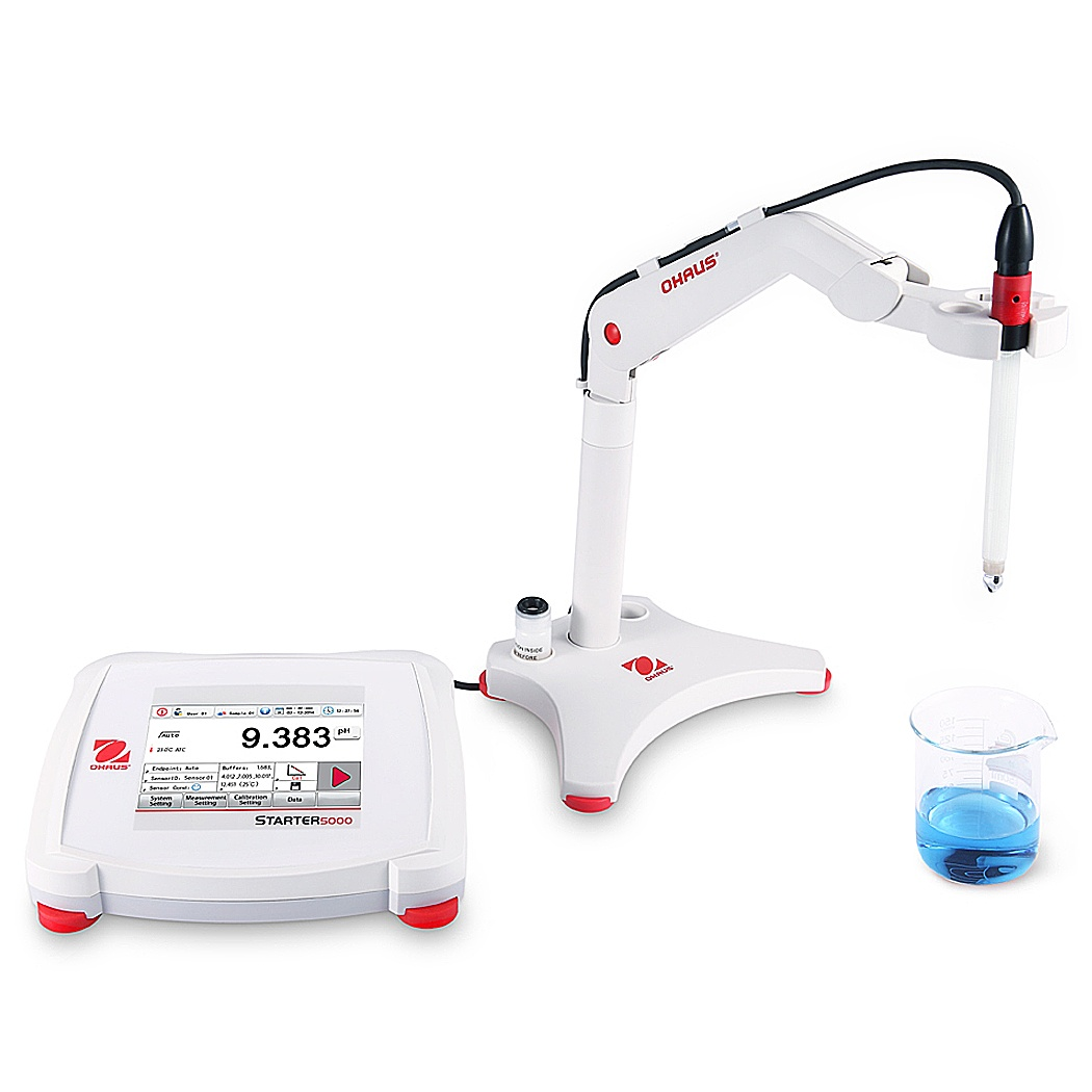 OHAUS Starter 5000 High Performance pH Bench Meter - Full Device pH Meter - Pipette_com
