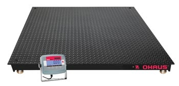 OHAUS VN Series Floor Scales and Platforms - Industrial Scale Full Image - Pipette_Com