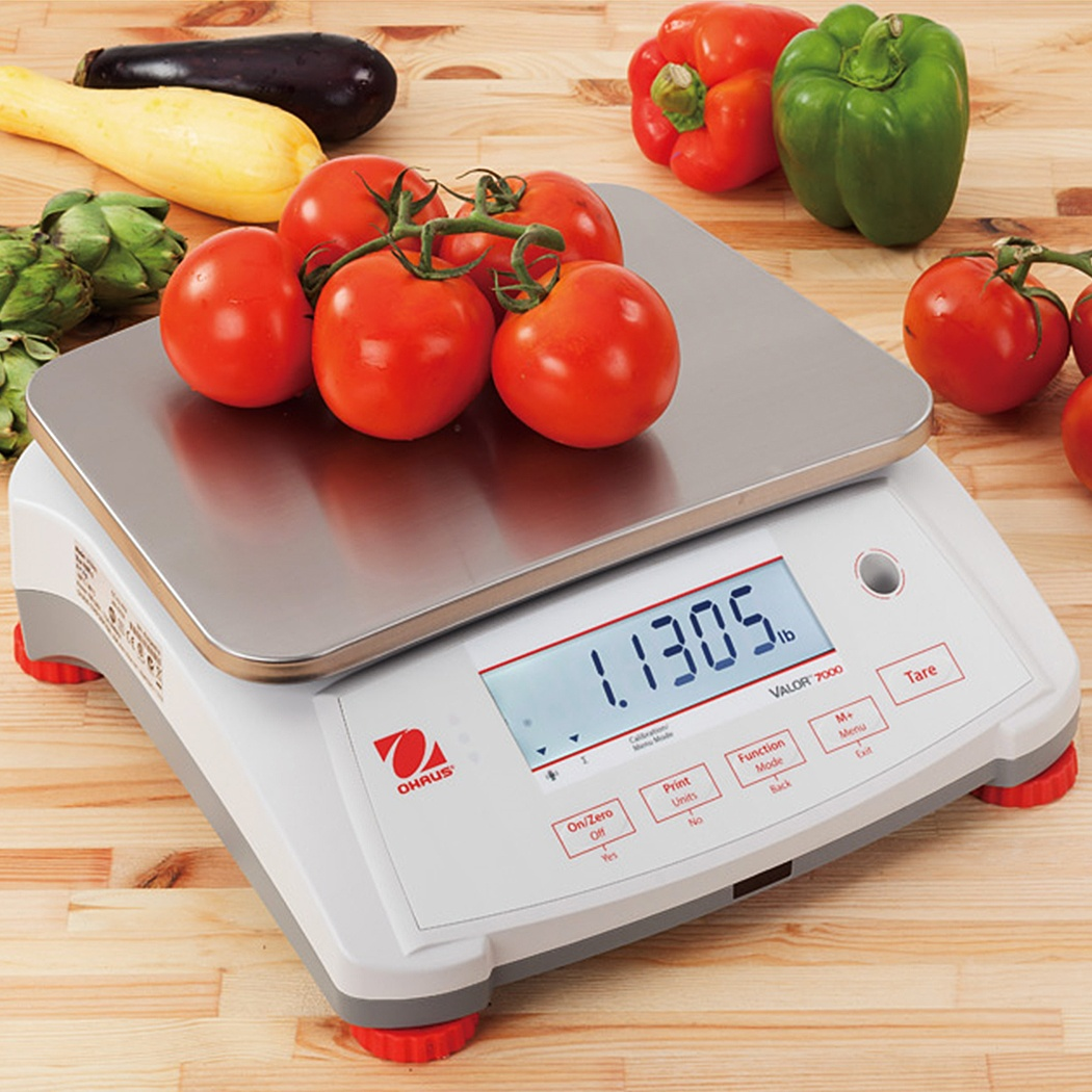 OHAUS Valor 7000 Compact Food Scale - Kitchen Scale - Pipette_Com