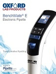 Oxford BenchMate E Electronic Pipette Brochure