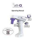 Manual for VistaLab ali-Q Aliquoting Pipet Controller