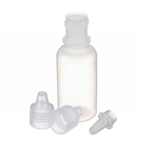 LDPE Natural Color Dropping Bottle with Tip & Cap | WHEATON