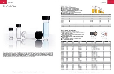 Wheaton Glass E-Z Ex-Traction Vial Information