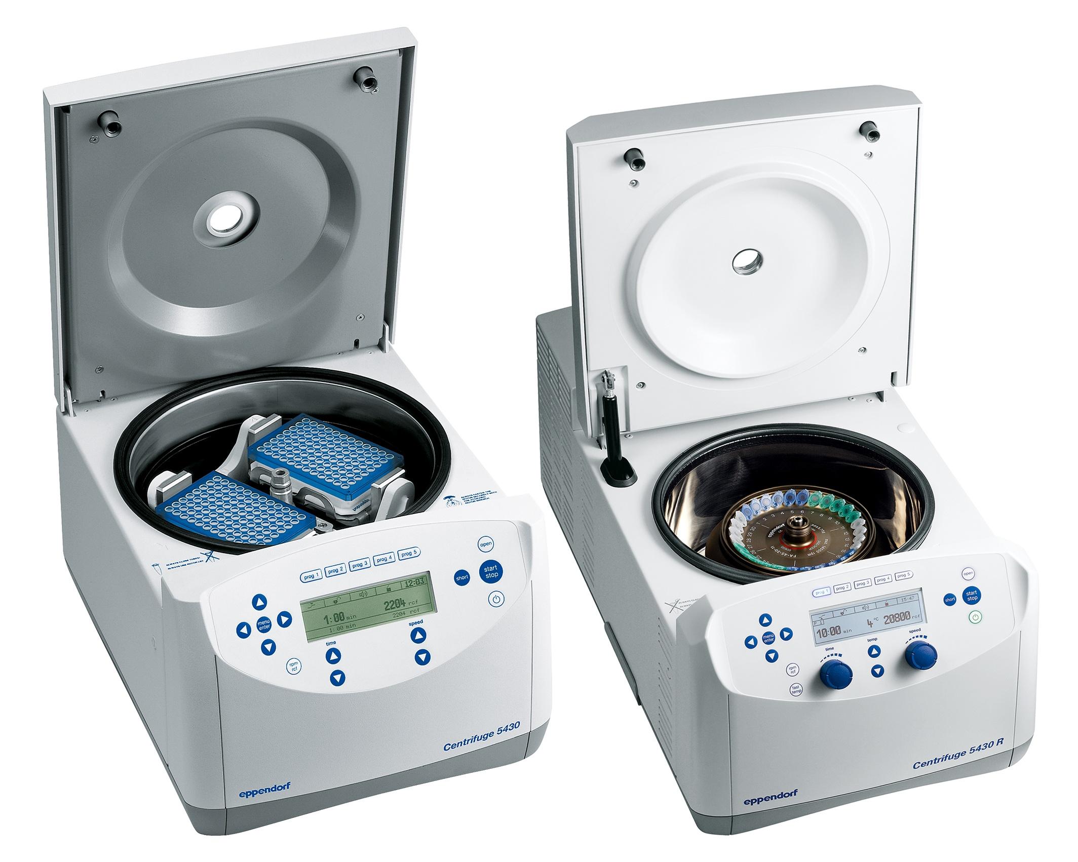 Eppendorf 5430 and 5430R Centrifuge