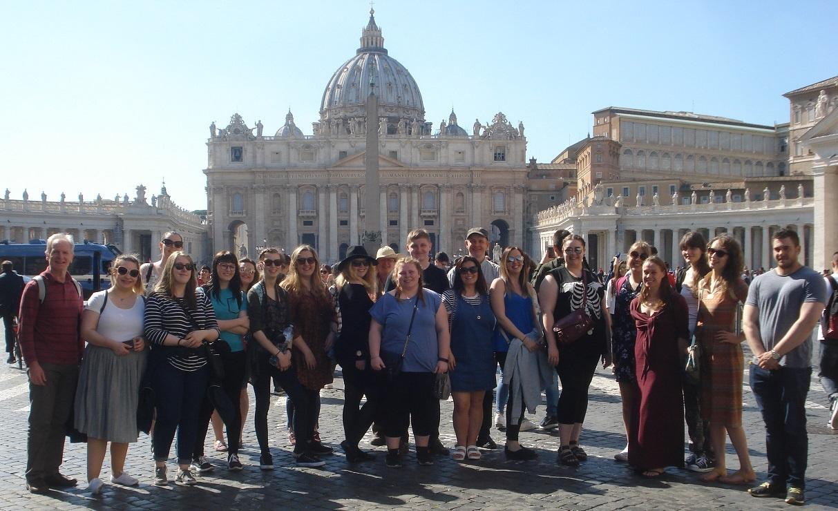 BGU Rome trip