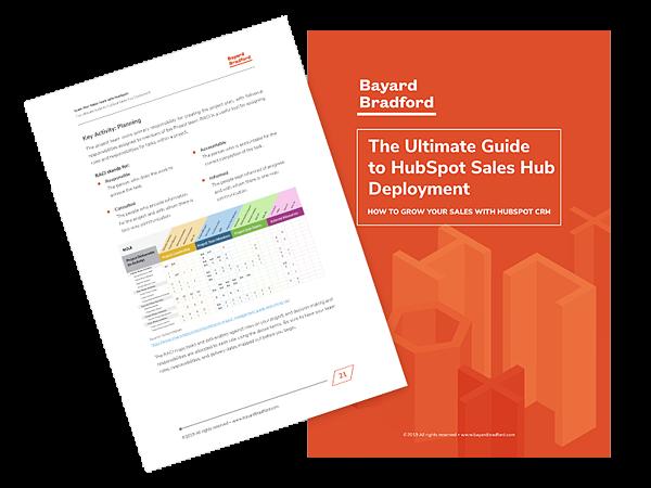 HubSpot Sales Hub ebook