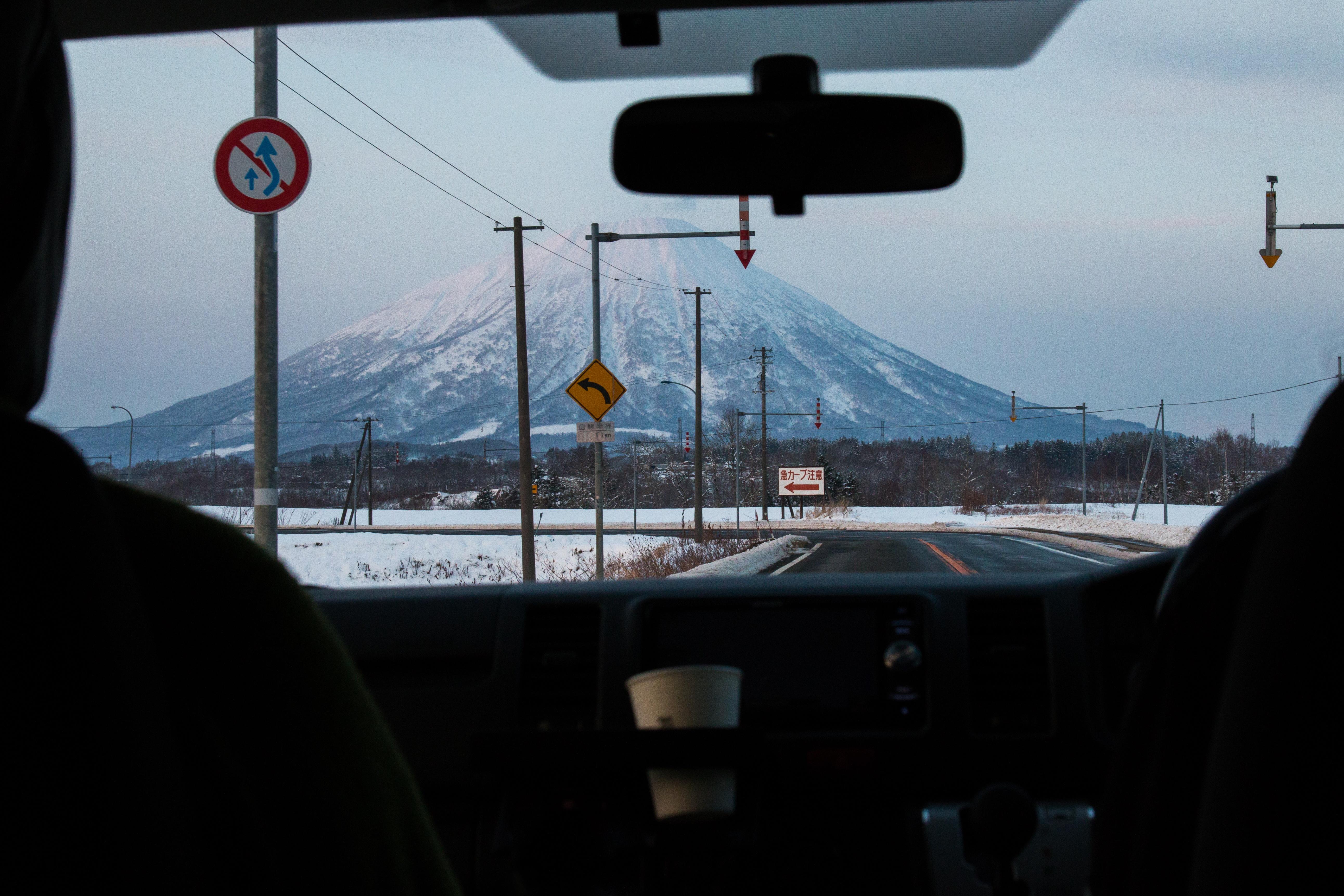 Mt Yotei Driving - Niseko PhotographyMatt Wiseman