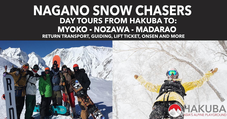 Nagano snow chasers