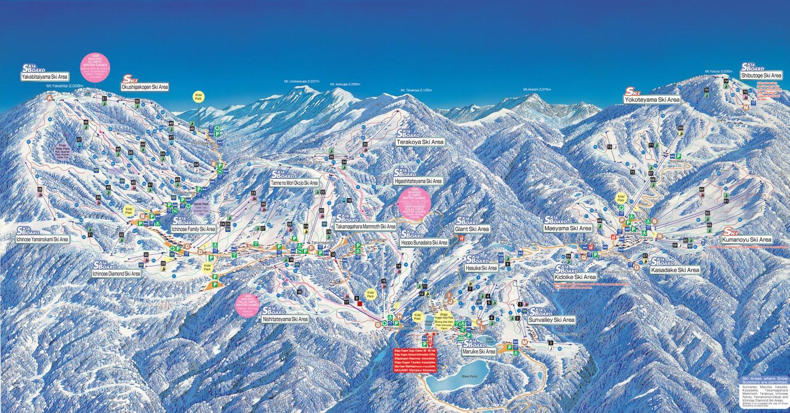 Shiga-Kogen-Piste-Map-Large