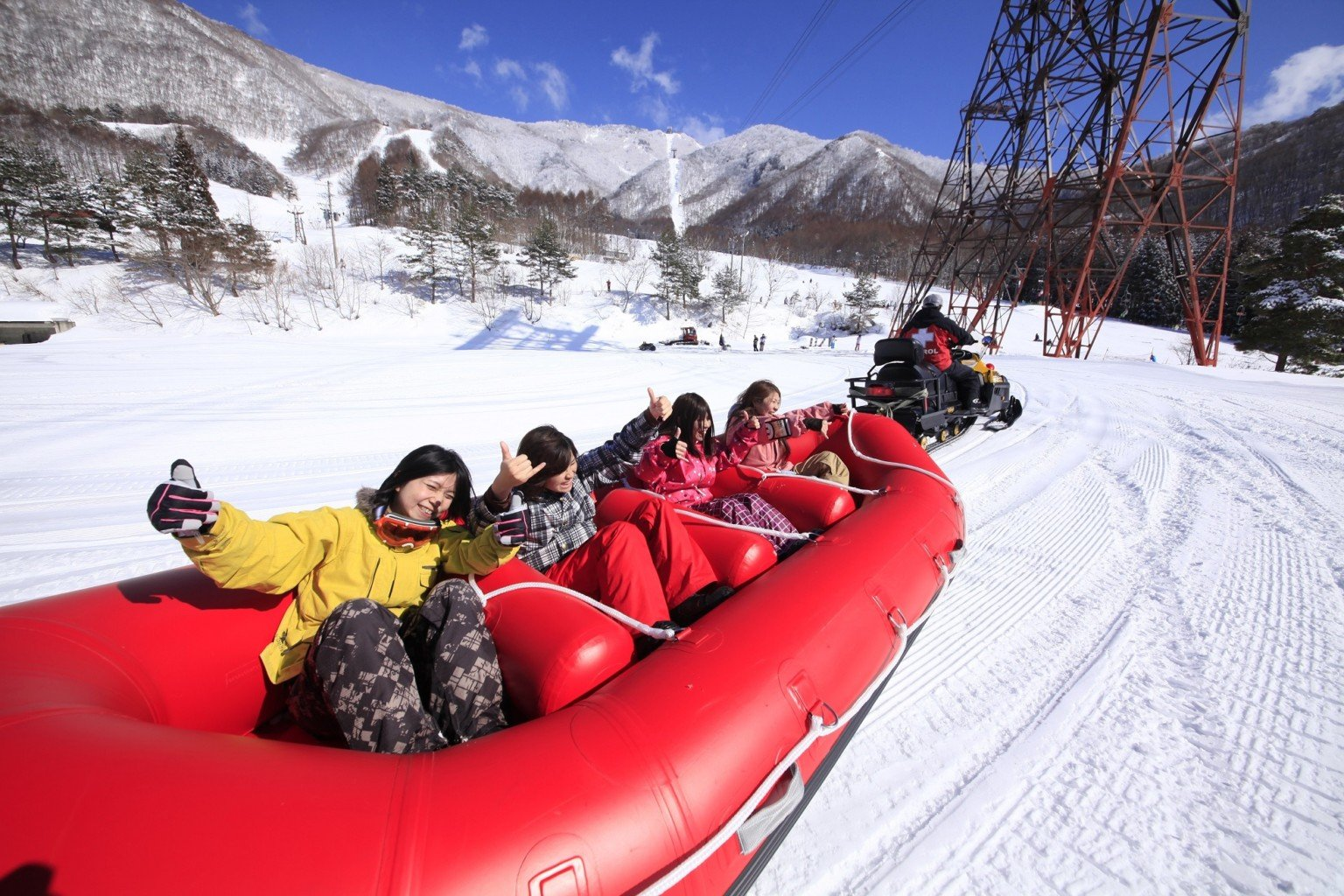 Snow-Rafting