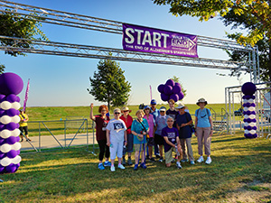 The Admiral walks to end alzheimers