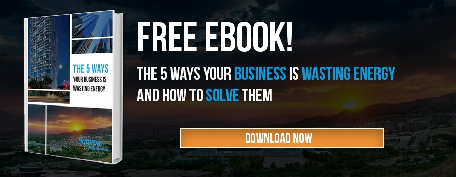 5 Ways your business is wasting energy ebook