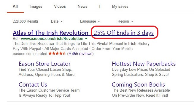 How to Advertise Promotions with Feed-Driven Text Ads
