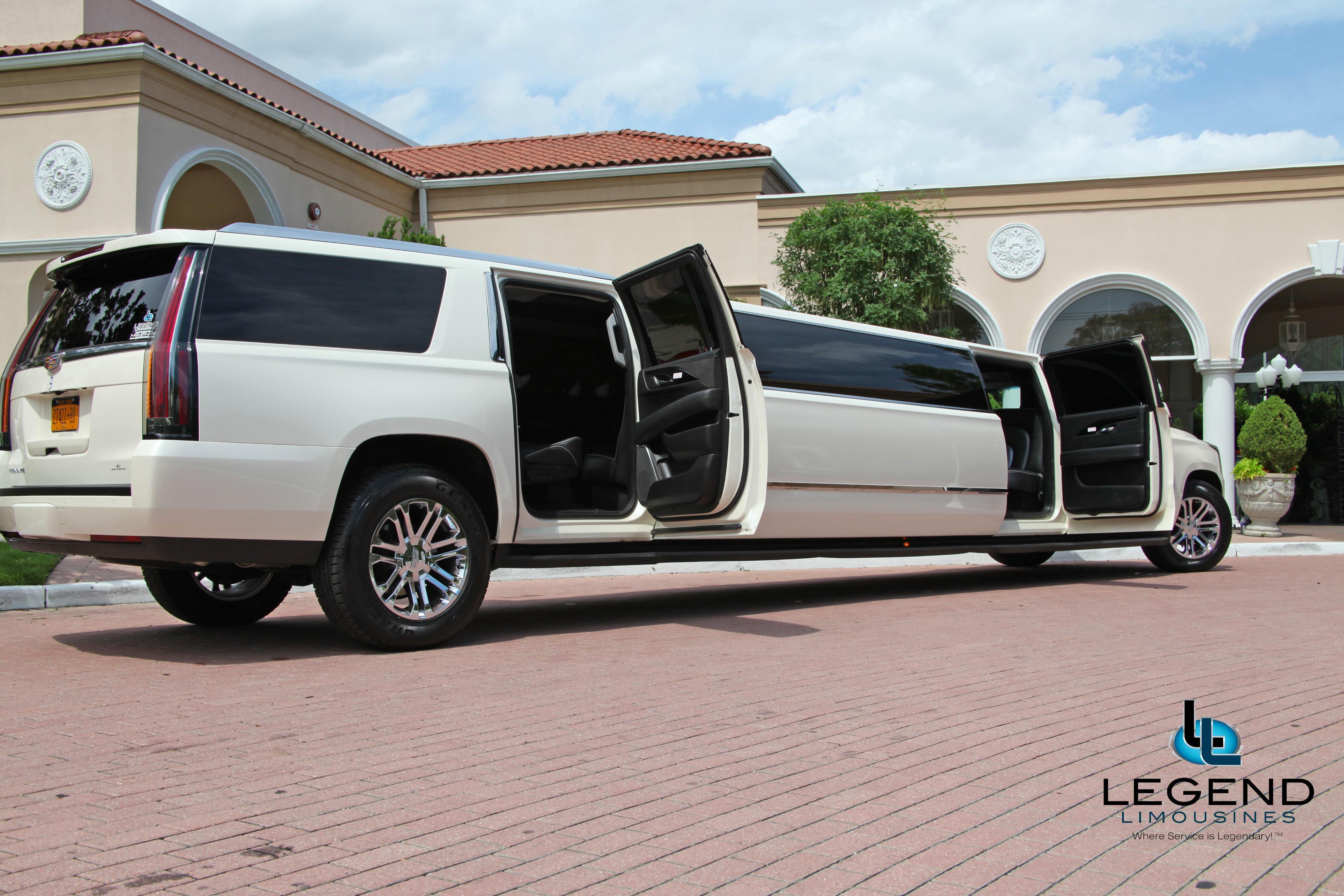 Legend Limousines, Inc. - Custom 20 Passenger Cadillac Escalades ...