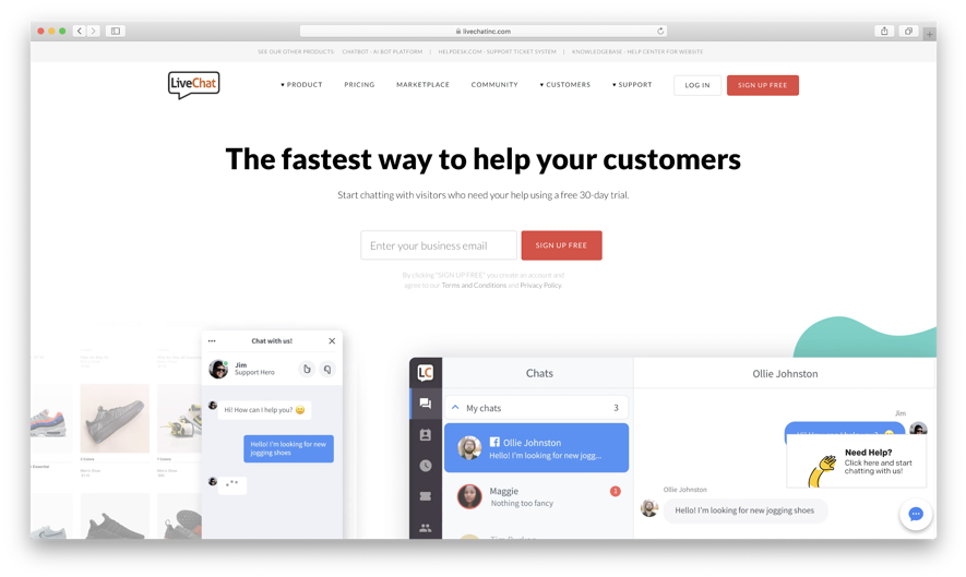 live-chat-chatbot
