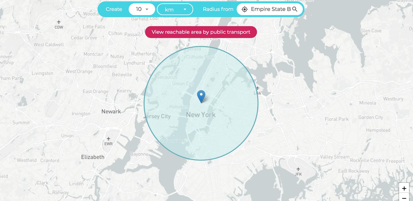 radius-map