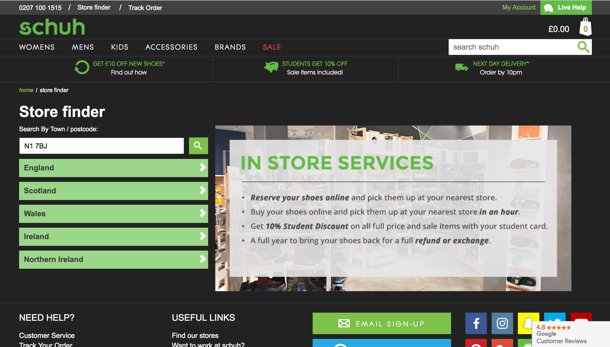 schuh-store-finder-uk-desktop