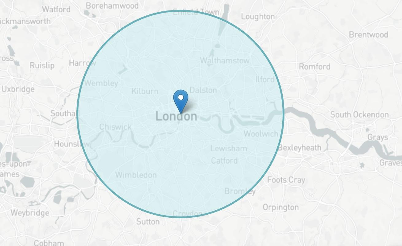 radius-circle-map