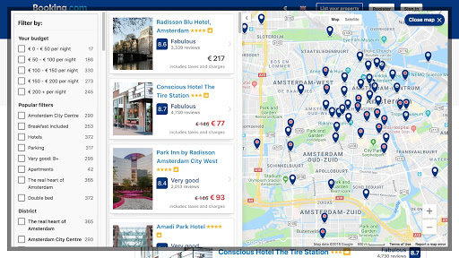 map-on-a-website-booking.com