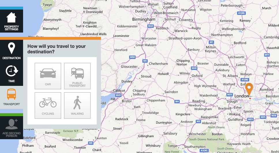 propertywide transport selection