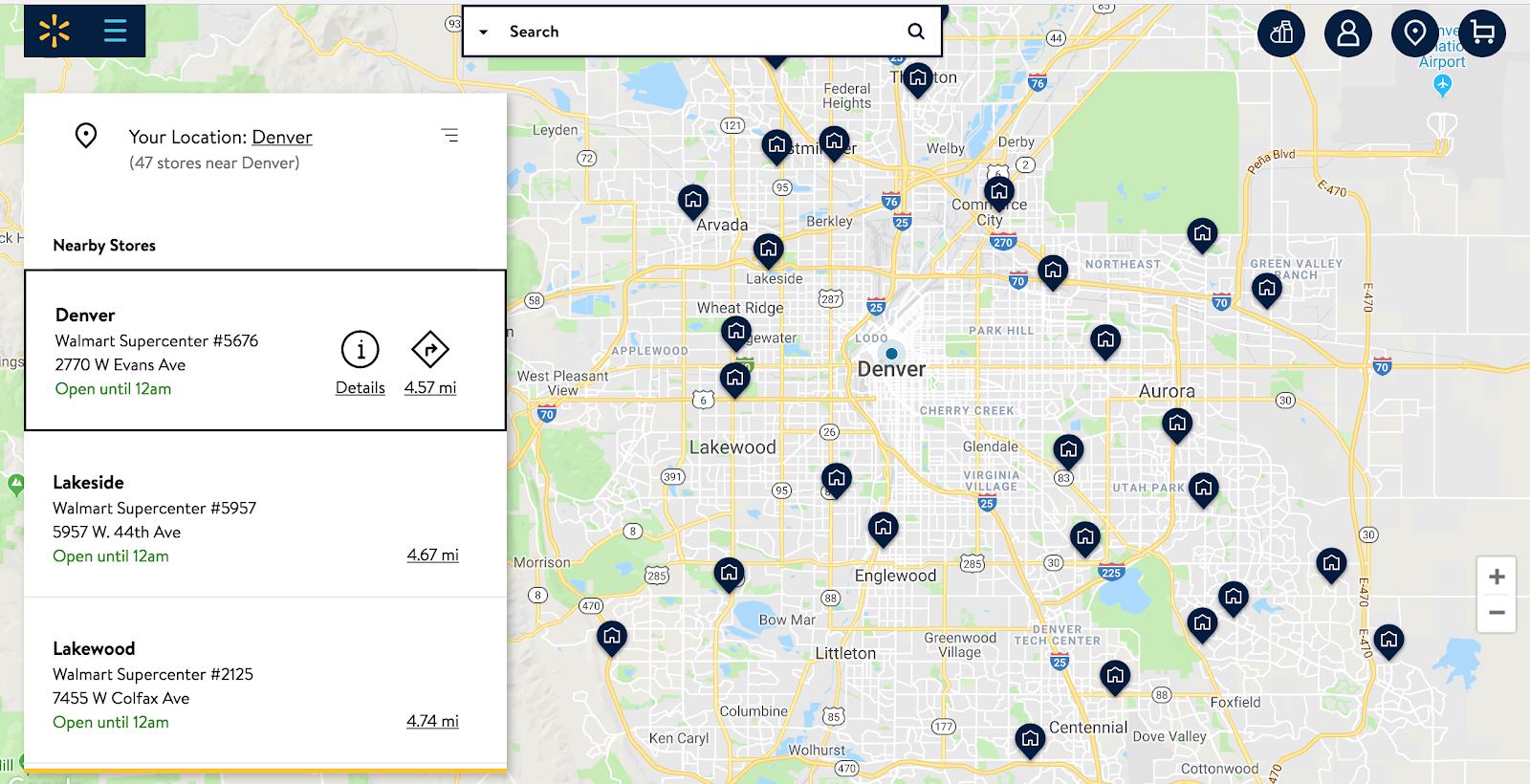 walmart-map-on-a-website