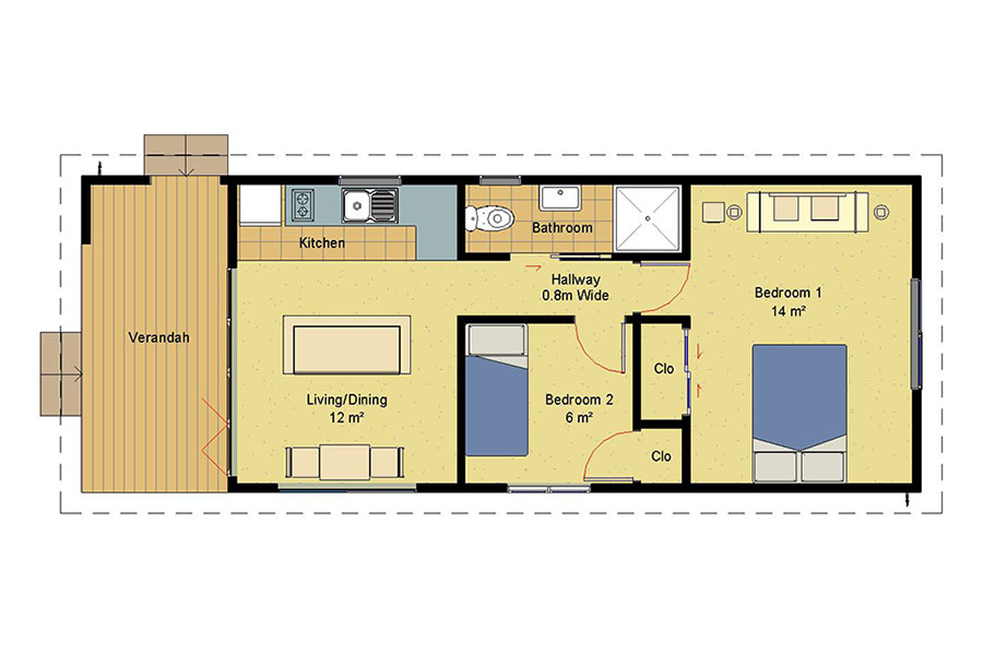 Small 3 bedroom house plans nz room image and wallper 2017 for Small home designs nz